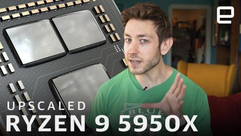 How good is AMD's Ryzen 9 5950X for content creators? | Upscaled