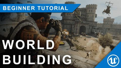 Unreal Engine 4 Beginner Tutorial: Building your first world