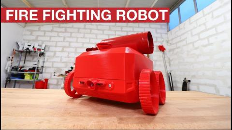 FIRE FIGHTING ROBOT