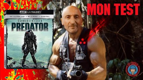 "Predator en Blu-ray ""4K"" : Tu l'aimes mon GRAIN de Pellicule ?!"