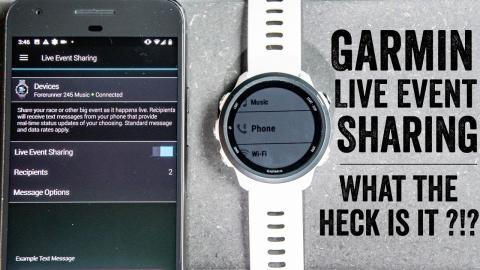 Garmin's New Live Event Sharing: An Explainer // How-to Guide & Test