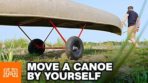 Making a Canoe Carrier