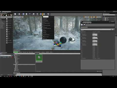 MAWI Tutorial - Turn on snow in forest packs