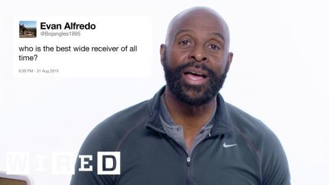 Jerry Rice Answers Football Questions From Twitter | WIRED