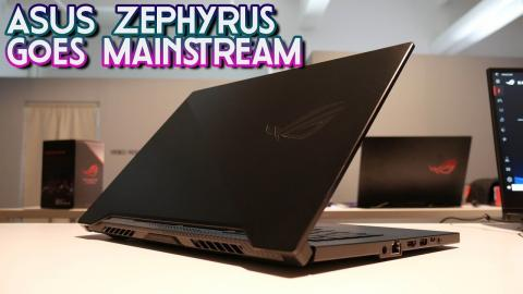 ASUS Zephryus G GA502 Overview - the £1249 thin-and-light for 2019!