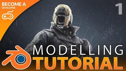 Creating Game Ready 3D Models - Blender Beginner Tutorial Series