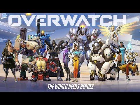 Live Stream #108 OVERWATCH and Chill.