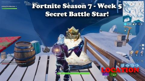 Fortnite - Season 7 - Week 5 Secret Battle Star Location