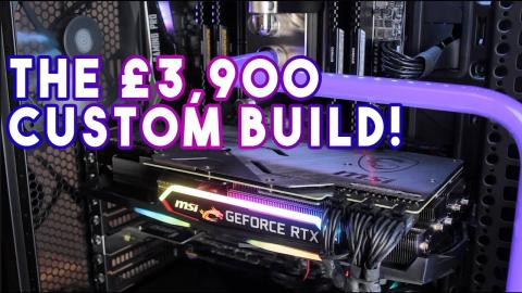 Cyberpower Hyper Liquid Threadripper RTX - the £3900 system!