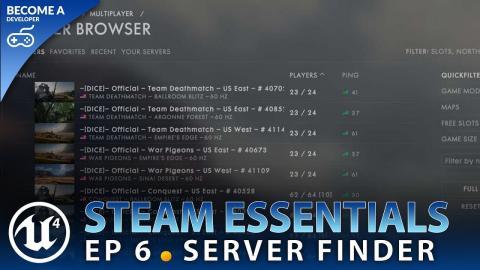 Project Setup - #1 Unreal Engine 4 Steam Multiplayer Essentials