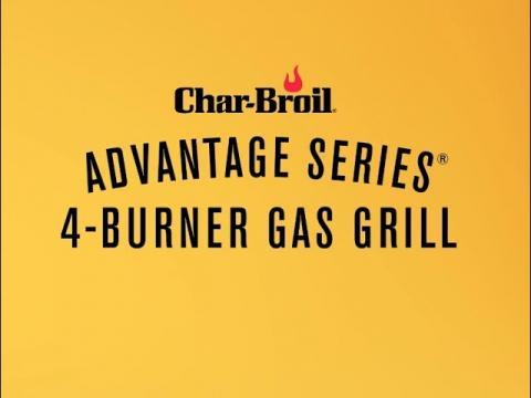 Advantage Series 4-Burner Gas Grill | Char-Broil