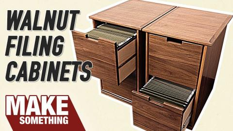 How to Make a Filing Cabinet | Easy Woodworking Project