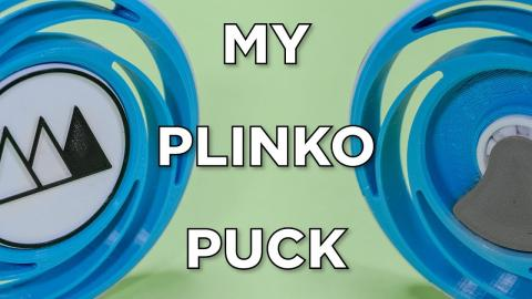 My Plinko Puck // Fusion 360 and 3D Printing