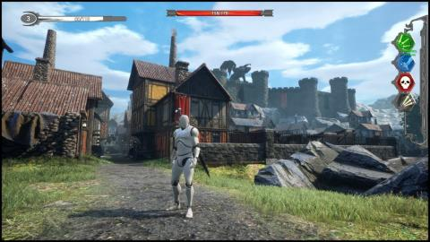 Medieval Town (Gameplay / Unreal Engine 4)