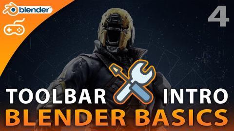 Toolbar Introduction - #4 Blender 3D Beginner Tutorial Series