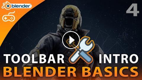 Toolbar Introduction - #4 Blender 3D Beginner Tutorial Series