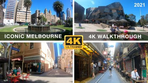 Epic Melbourne Walkthrough featuring many of our cultural icons & Landmarks | 4K 60FPS