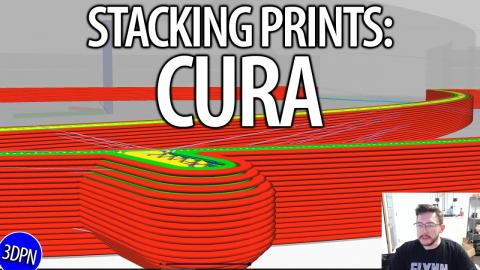HOW TO STACK PRINTS in CURA