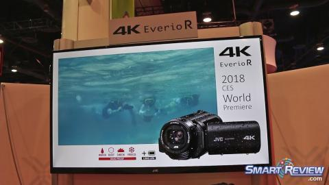 CES 2018 | JVC Quad-Proof 4K Camcorder | Everio GZ-RY980 | Waterproof, Shock, Dust &Freeze Proof