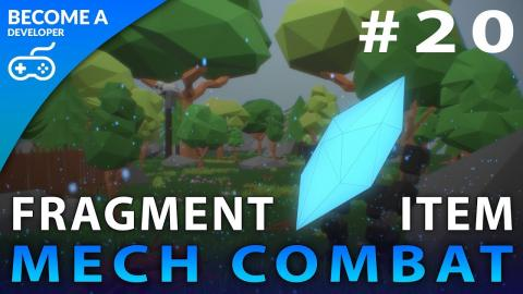 Time Fragment Pickups - #20 Creating A Mech Combat Game with Unreal Engine 4