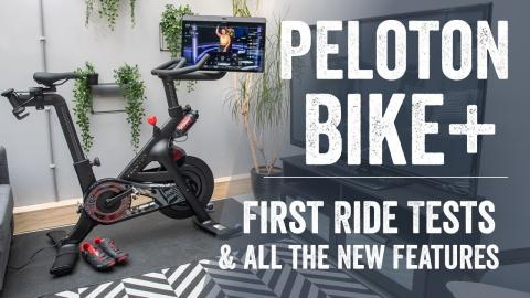 Peloton Bike+ (Plus) Hands-On First Rides & Everything New Detailed!