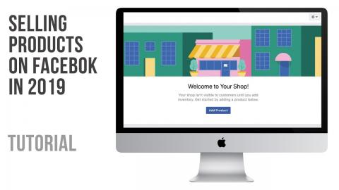 How to set up a facebook Shop in 2019