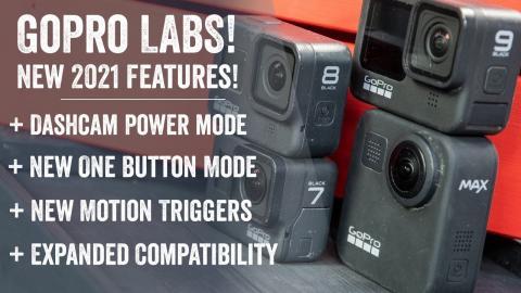 GoPro Labs 2021 New Features on Hero 9, Max, Hero 8, Hero 7: Hands-on Details & Explainer