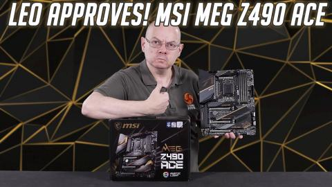 MSI MEG Z490 ACE Deep Dive Review! Overclocking, VRM Thermals & TVB