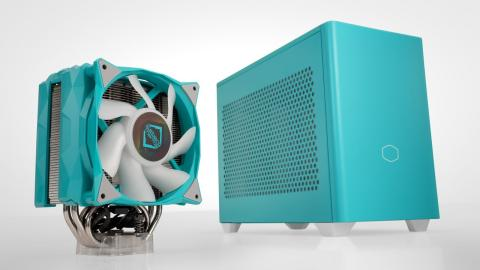 My Dave2D Teal PC Build