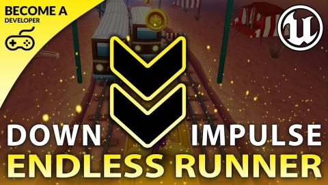 Downward Movement - #16 Creating A MOBILE Endless Runner Unreal Engine 4
