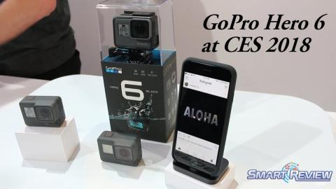CES 2018 | GoPro Hero 6 Action Cam | 4K Capture | SmartReview.com: