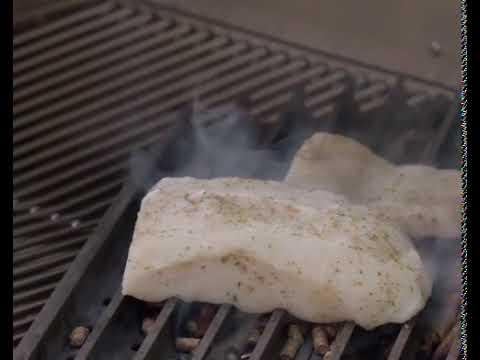 Close Proximity Smoking Chilean Seabass