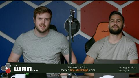WE'RE LIVE! Tune into the WAN Show at the link in the description
