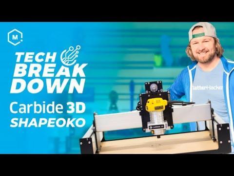 Carbide 3D Shapeoko XXL CNC Router Kit // 3D Carver Highlights