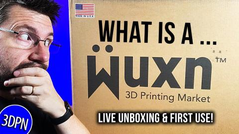 What's a WUXN? Unboxing & First Use LIVE!