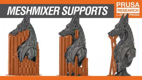 How to create custom supports in Meshmxier