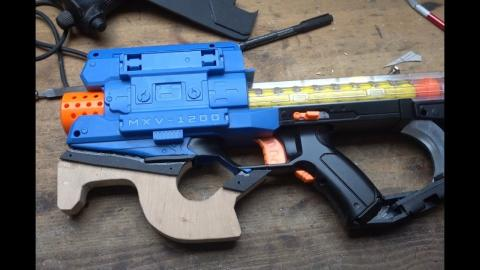 A real Nerf P90  MOD