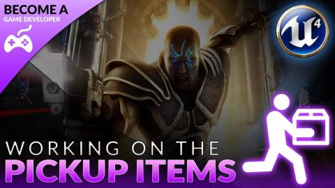 Creating Inventory Pickup Items - #42 Creating A Role Playing Game With Unreal Engine 4