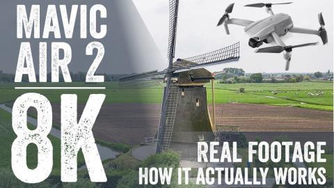 DJI Mavic Air 2: 8K HyperLapse Explained and Tested