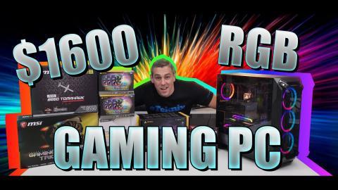$1600 Gaming PC Build - B550 + Ryzen 5 + RTX 2080