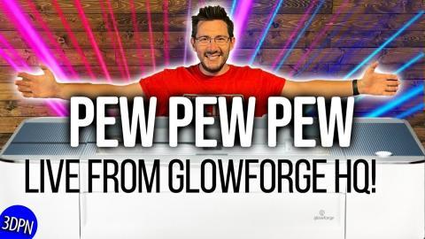 LIVE from Glowforge HQ in Seattle, WA!