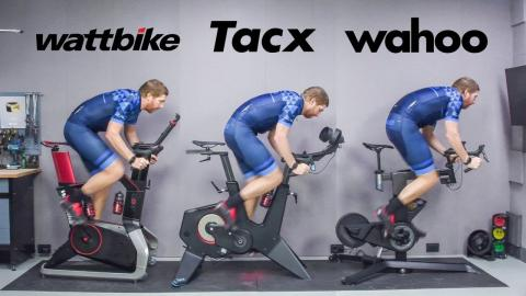 Indoor Smart Bike Showdown: Wahoo KICKR Bike vs Tacx NEO Bike vs Wattbike Atom