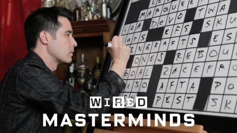 Puzzle Expert Explains How a Crossword Puzzle is Made | WIRED