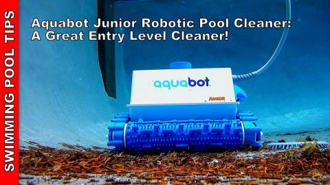 Aquabot Junior Robotic Pool Cleaner - A Great Entry Level Cleaner Priced at  $550!