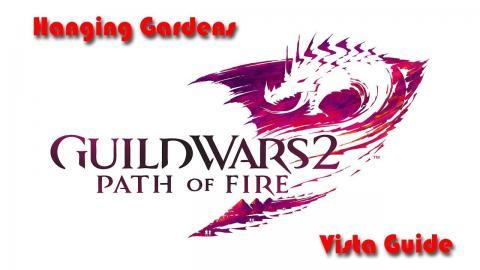 Guild Wars 2 - Path of Fire - Hanging Gardens - Vista - Domain of Vabbi