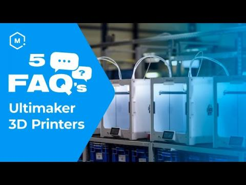 Five Frequently Asked Questions About Ultimaker 3D Printers Answered