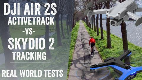 DJI Air 2S Active Track vs Skydio 2: Tested & Footage!