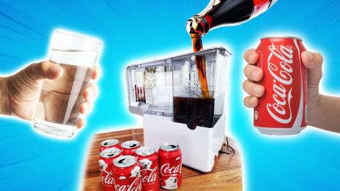 Can we turn Coke into Water? - MYSTERY TECH