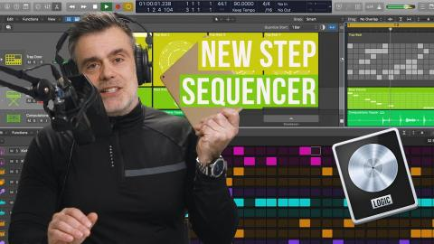 Four to the Floor with the Logic Step Sequencer - Drum Pattern Tutorial