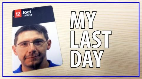 This Is My Last Day...